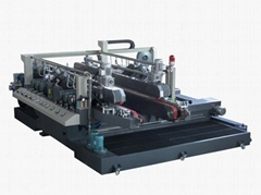 glass double line edging machine
