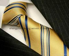 silk jaquard necktie