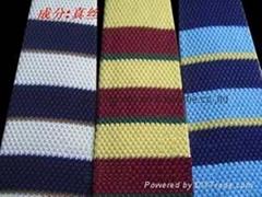 silk  knit-necktie