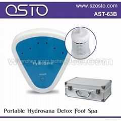 Portable ion foot spa