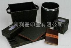 服务指南,菜谱,纸巾盒,酒架,垃圾桶,万用手册,笔记本
