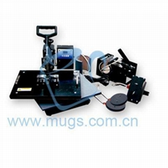 Combo Heat Press Machine-multifunctional sublimation machine (Hot Product - 1*)