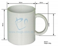 Sublimation Coated blank Mug (Hot Product - 2*)