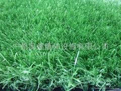 足球人造草、AJ-QDS45-1、人造草、人造草坪、球场草坪