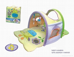 Infantino Baby Gym Activity Center Play Mat