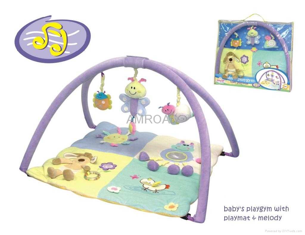 Infantino baby gym activity center play mat china for Baby play centre