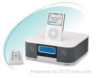 688AM/FM Radio, Alarm Clock iPod 2.1 Speaker