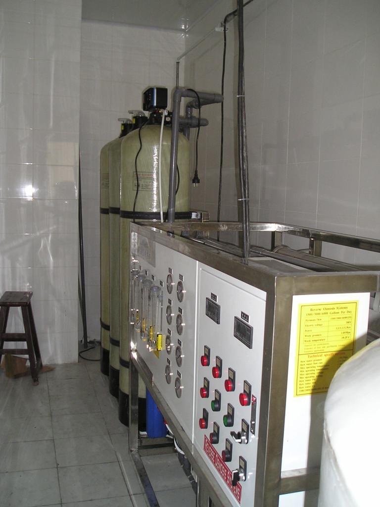 1.0t/h实验室用纯水机 1