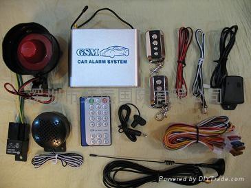 gsm汽車警報器 1
