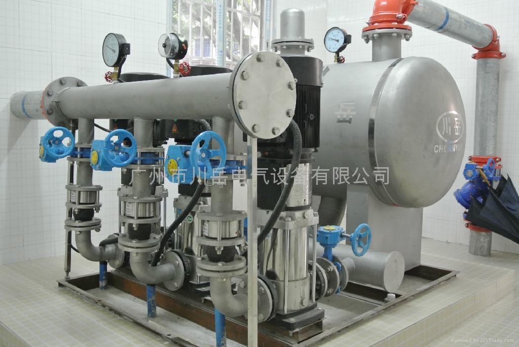 高樓管網疊壓(無負壓)供水設備 1