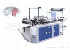 RHT-500 Computer disposable plastic glove machine