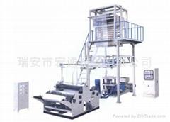 聚乙烯(PE)熱收縮膜吹膜機組
