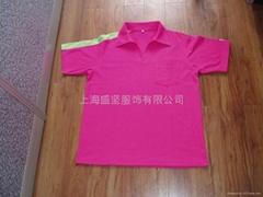 工作服制服校服运动服工装全棉文化衫广告