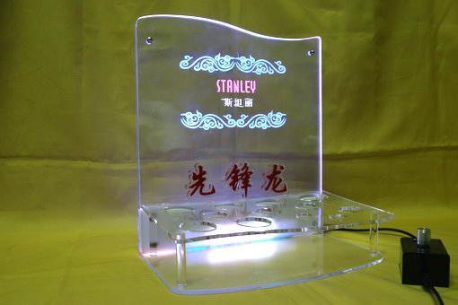有機玻璃(壓克力)化妝品展架 4