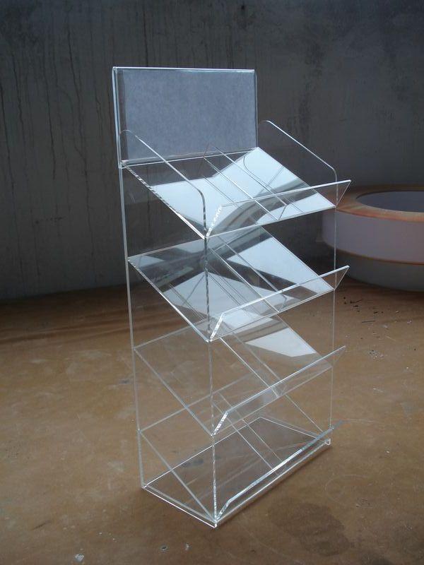 有機玻璃(壓克力)化妝品展架2 4