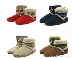 时尚雪地靴棉鞋