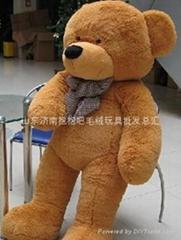 情人節禮物 濟南毛絨玩具超柔風衣泰迪熊