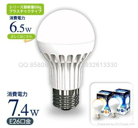 LED灯泡光电球 1