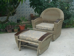 HW883 House Outdoor Leisure Rattan Furniture