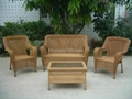 HW882 Outdoor Leisure Rattan Furniture Set