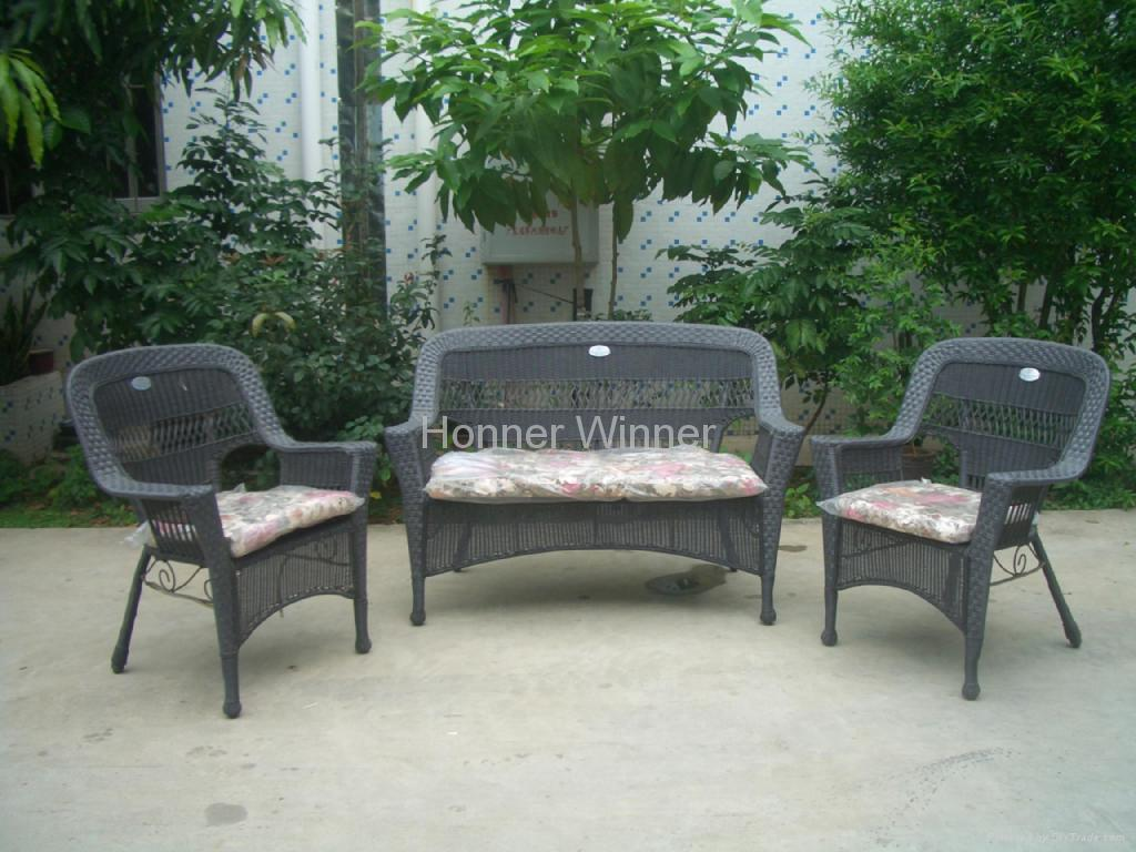 Hw885 Outdoor Leisure Rattan Furniture Set Honor Winner China Manufacturer Outdoor
