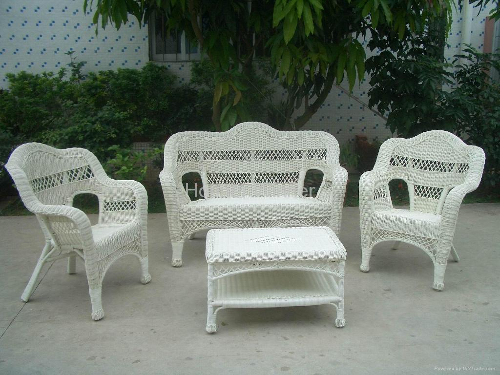 Hw894 4 Pieces Outdoor Leisure Rattan Furniture Set Honor Winner China Manufacturer