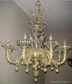 Murano chandelier 1