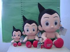 铁臂阿童木系列毛绒玩具、手偶、零钱包