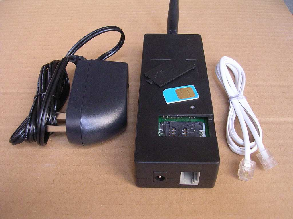 GSM and PSTN exchange