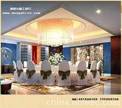 新款高檔酒店水晶工程燈