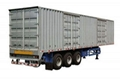 Compartment Semi Trailer