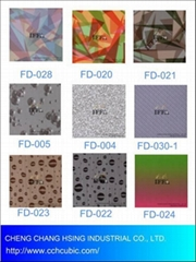 Breathable&waterproof film for clothing, fabric