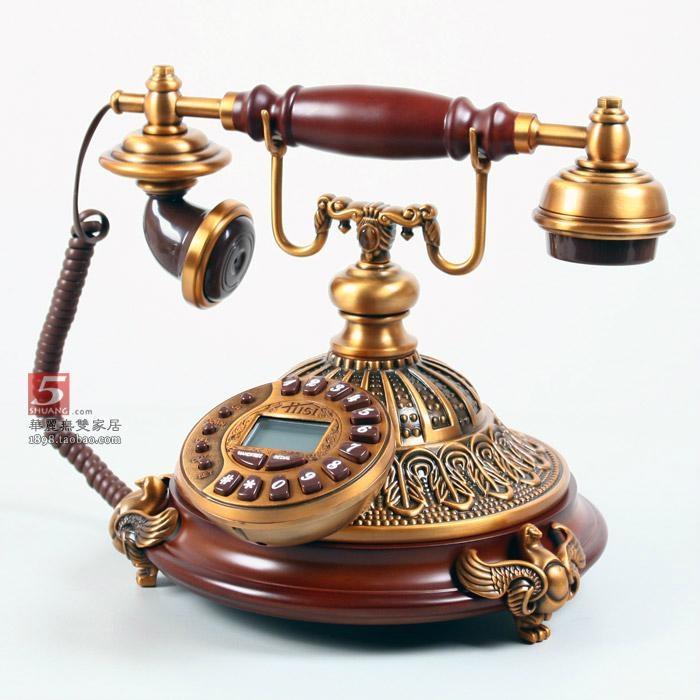 古董工艺 原创正品特价包邮; 欧式仿古电话机 2; 欧式电话 仿古复古