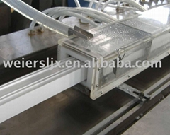 PVC window and door profile machine