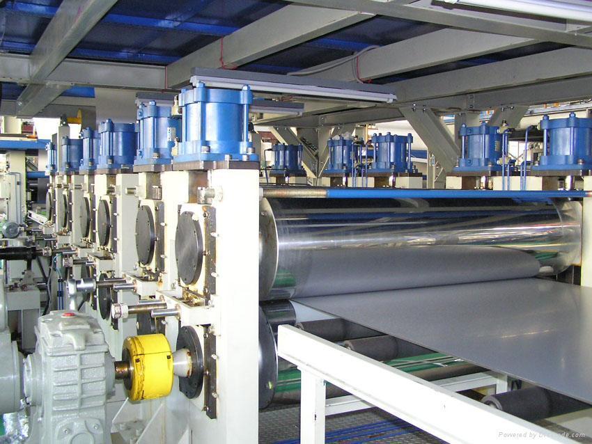 Aluminum-plastic composite panel extrusion line 1