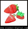 USB Flash Drive, Strawberry Style