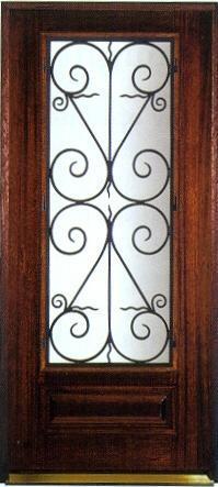 Iron Door Grill 1 ...