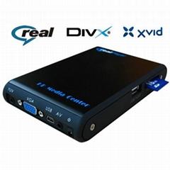 2.5寸硬盤播放器 支持RM、RMVB格式