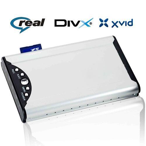 2.5寸硬盘播放器 支持RM、RMVB格式 1