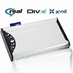 2.5寸硬盘播放器 支持RM、RMVB格式