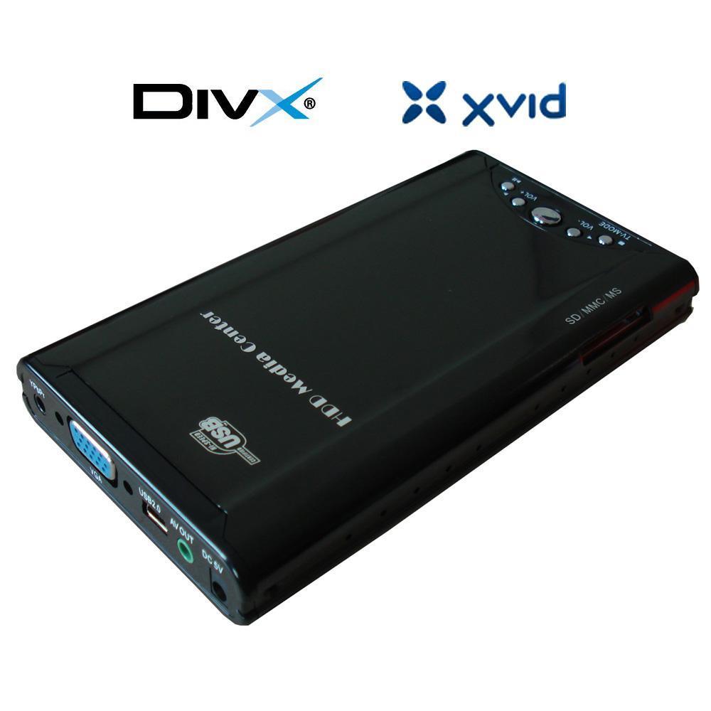2.5寸硬盘播放器 带USB2.0和读卡器 1