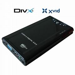 2.5寸硬盘播放器 带USB2.0和读卡器