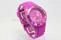silicone ice watch best gifts promotion watch