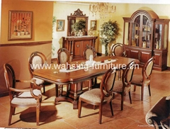 HB-1021 diningtable with HC-306 chairs