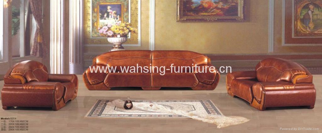 Wood And Leather Sofa Set Great Leather And Wood Sofa Interiorvues Thesofa
