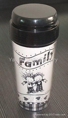 Sell Double Wall Plastic Travel Mug/Cup,Coffee Cup,plastic products