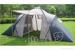 多人露營帳篷
