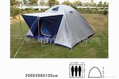 山峰夢戶外旅遊用品-三人野營帳篷
