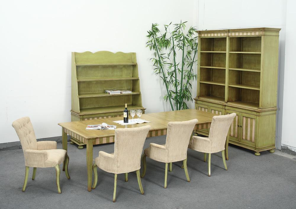 Dining room set yh mrs301 green world china for Y h furniture trading
