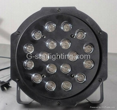 led par/led professional lighting/led stage lights/18*1wSlim par 64LED